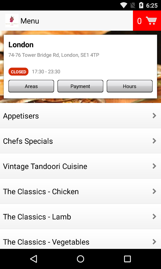 Tower Tandoori- screenshot