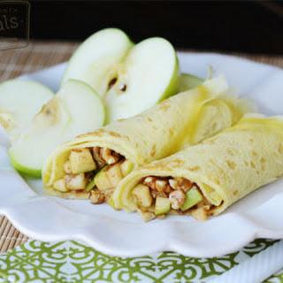 Apple Pecan Crepes