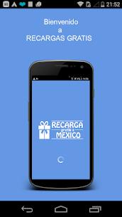 Recargas GRATIS a México 1