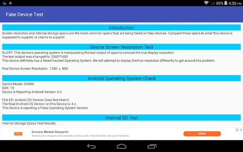 App Fake Device Test APK for Windows Phone