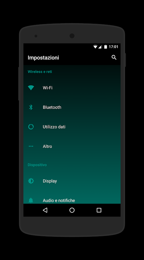 [Substratum] Shade UI Theme- screenshot