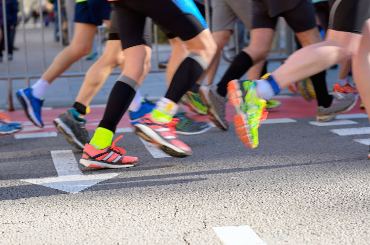 Long-distance runners may cross the finish line with badly bruised toenails.