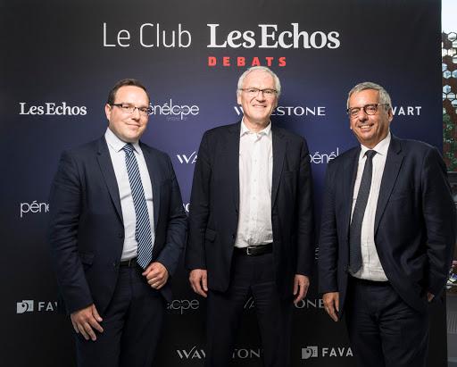 Club Les Echos Débats avec Jean-Bernard Lévy, Président-Directeur Général d'EDF - Wavestone