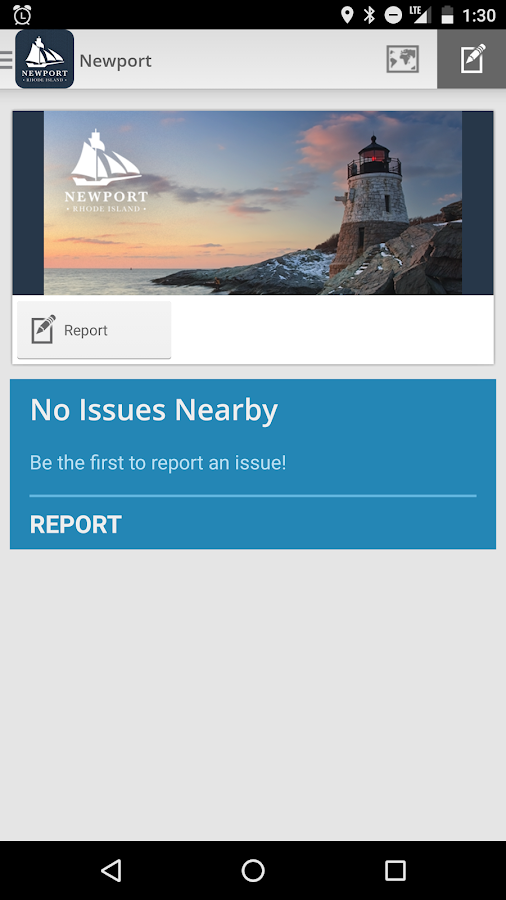 Report It! Newport RI- screenshot