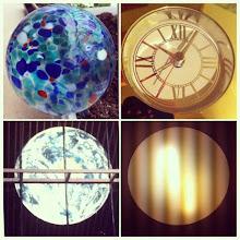 Photo: The globe theme #clock #time #water #planet #light #neon #circle #globe #earth #instadaily #intercer - via Instagram, http://instagr.am/p/MxPA5IJfpH/
