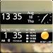 Smoked Glass Weather Clock APK
