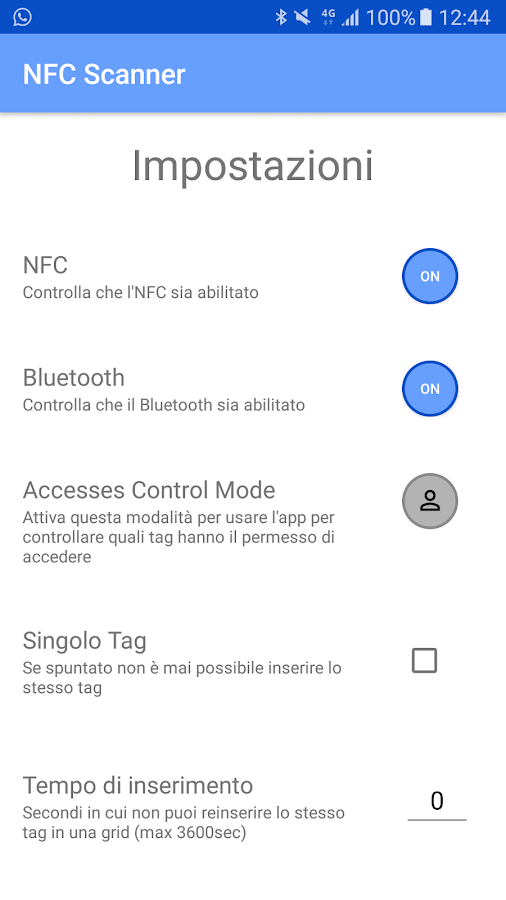 NFC Scanner- screenshot