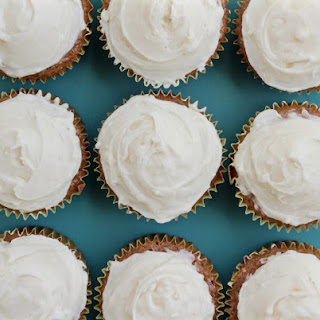 The Best Dang Healthified Carrot Cake Cupcakes and Cream Cheese Frosting