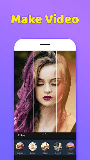 Photo Video Maker With Music-Movie Maker 1.0 screenshots 6