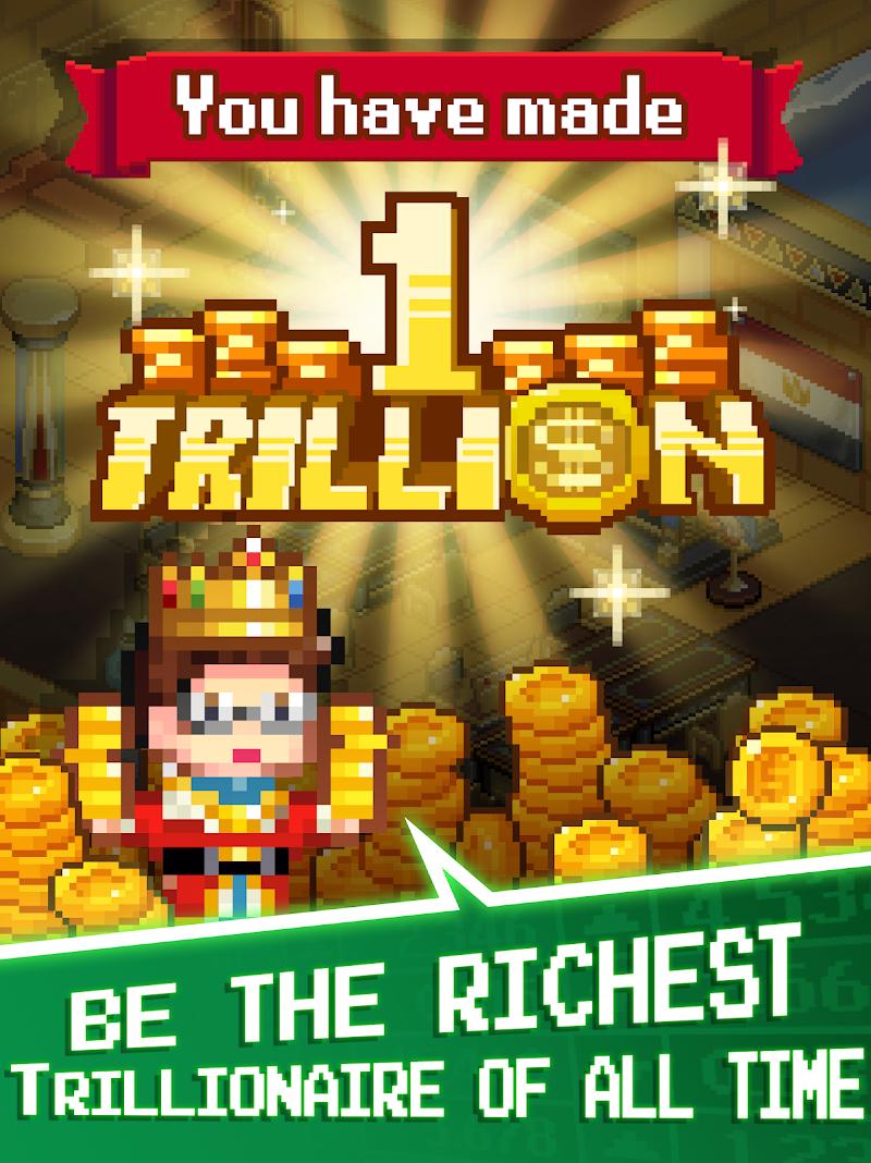 Tap Tap Trillionaire - Cash Clicker Adventure Screenshot 11