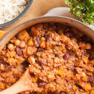 Spicy Vegetarian Chili.