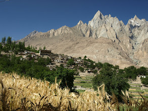 Photo: Macholo Village, Lower part of Hushe Valley