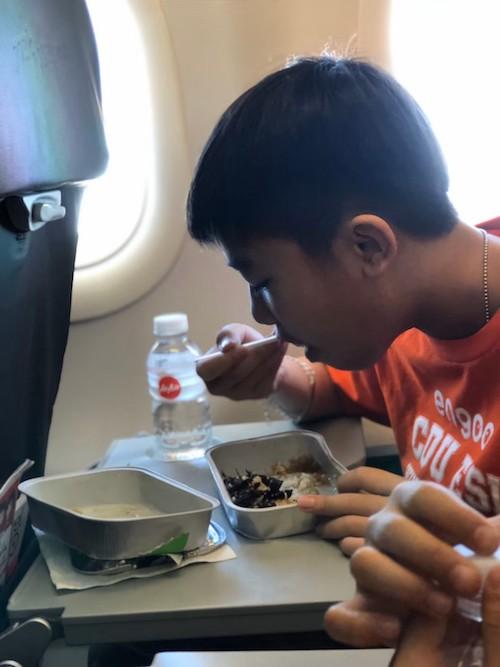 2020菲律賓遊學團飛機餐