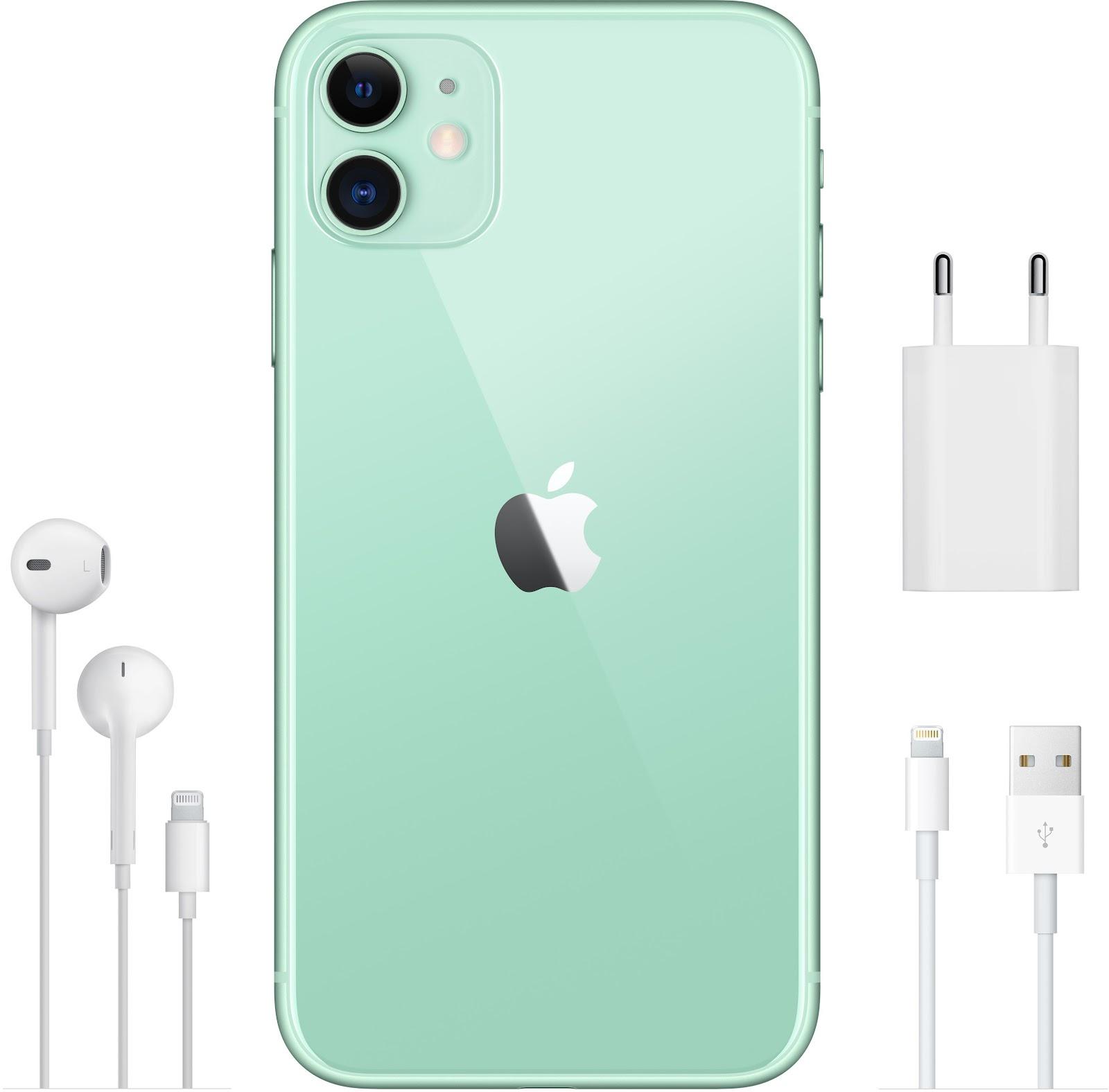 Камера Айфон от Эппл 11 64GB Green