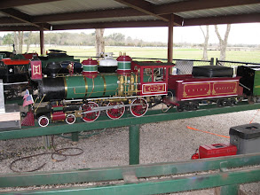 Photo: Richard Finlayson's 4-6-0  looks great and runs great.  HALS 2009-0228