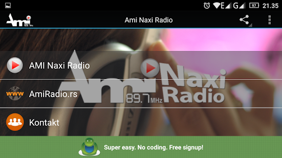 AMI NAXI RADIO 89.7MHz- screenshot thumbnail