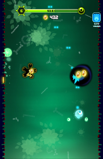 Super Cell Boy - Cute idol arcade space shooter screenshot 12