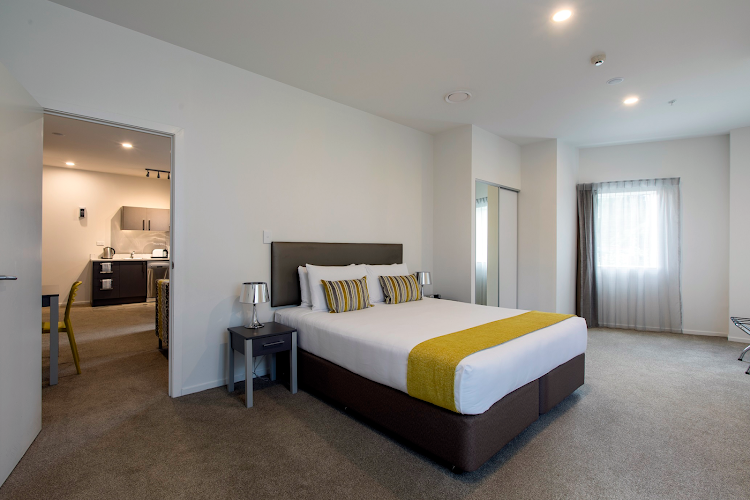 Bedroom at Quest on Thorndon
