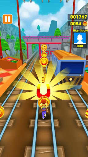 Subway Run - Train Surfing 3D 1.0 screenshots 5