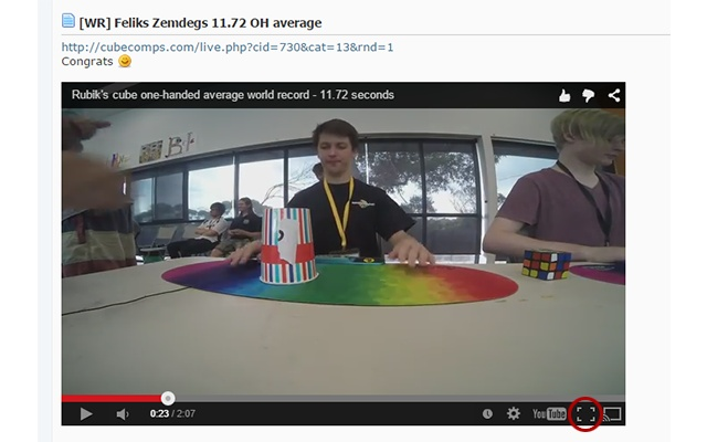 SpeedSolving Youtube Fix