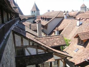 Photo: Die Sicht von der Stadtmauer
