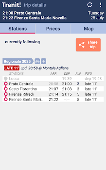 Trenit: find trains in Italy