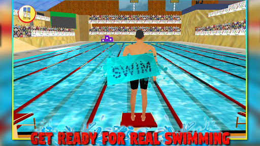 Real Pool Swimming Water Race 3d 2017 - Fun Game 1.8.6 de.gamequotes.net 1