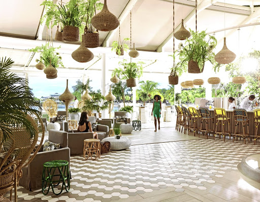 Perfect place to unwind: The enchanting Palm Court Bar at the refurbished LUX* Grand Gaube resort in Mauritius. Chief sales and marketing officer Julian Hagger says the group launched a campaign three years ago to attract more of SA's black upper-and middle-class market. Supplied