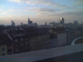 Photo: Zachód słońca z okna hotelu (VII p.)