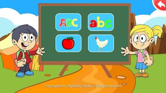 Belajar Huruf dan Angka screenshot