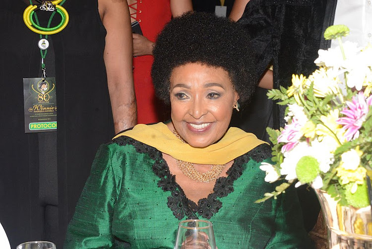 Winnie Madikizela-Mandela at her 80th birthday party at Emperors Palace, Johannesburg, on September 26 2016. File photo.