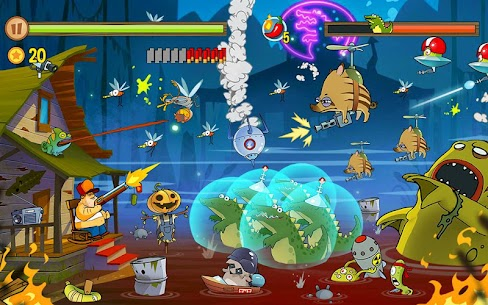 Swamp Attack MOD APK 4.0.5.87 [Unlimited Money] 9