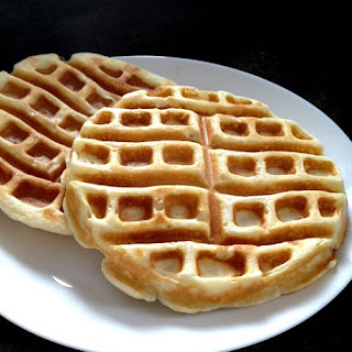 Perfectly Fluffy Gluten Free Waffles