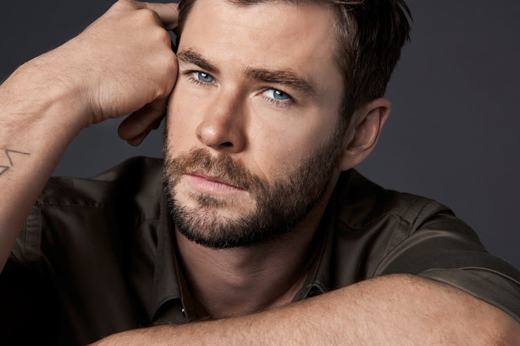 Chris Hemsworth, the face of BOSS Bottled's Man of Today campaign.