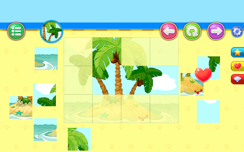 Children Puzzle for Kids Pets PRO: Box 2D & Slices Screenshot