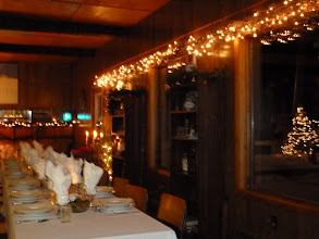 Photo: Christmas at the lighthouse lounge