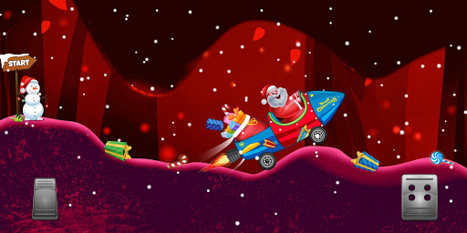 Télécharger Gratuit Santa The Racing Game apk mod screenshots 5