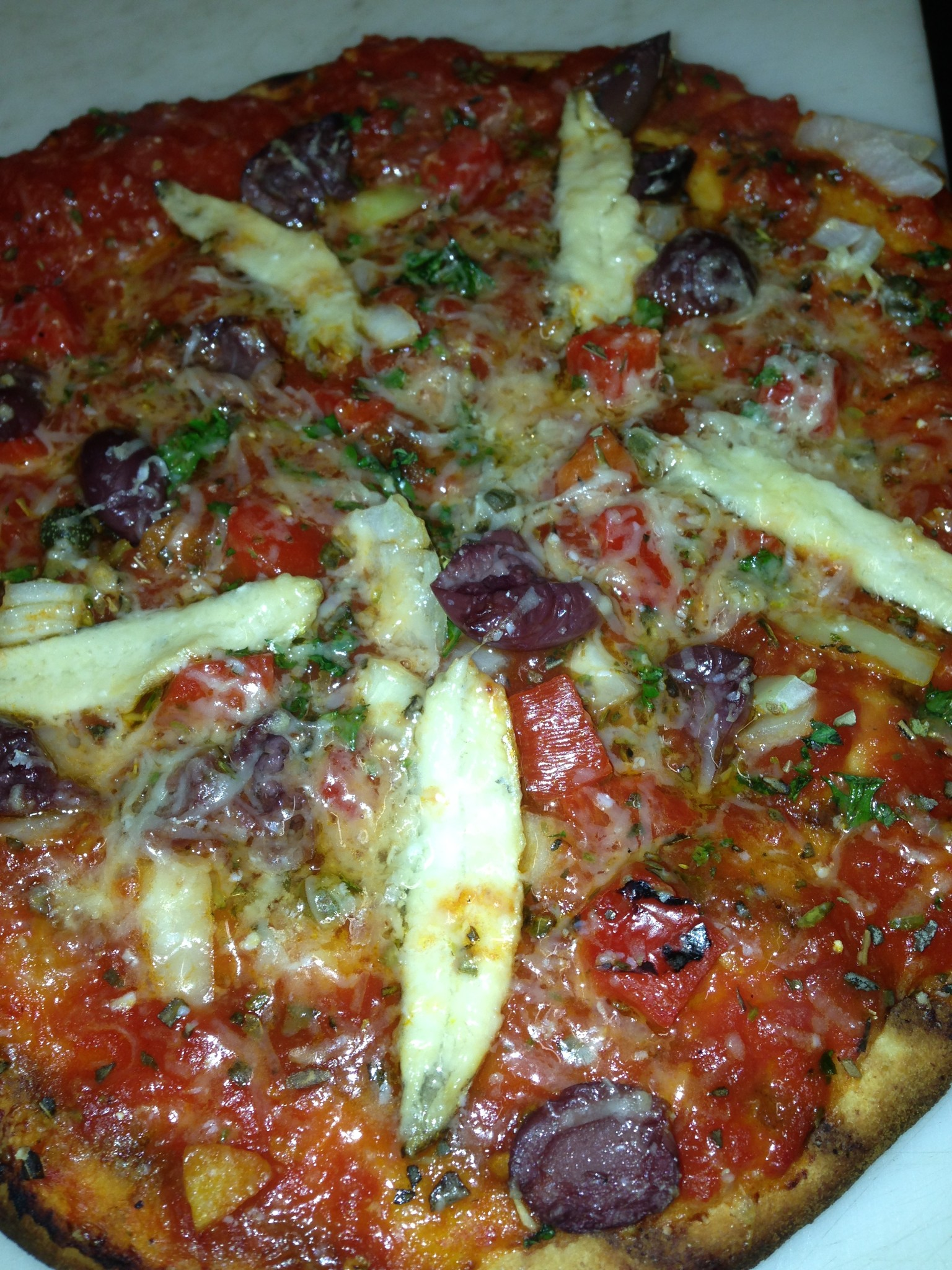 Photo: pizza at the kasbah in winthrop