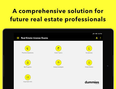 Real Estate Exam for Dummies- screenshot thumbnail