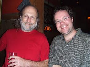 Photo: Phil and David