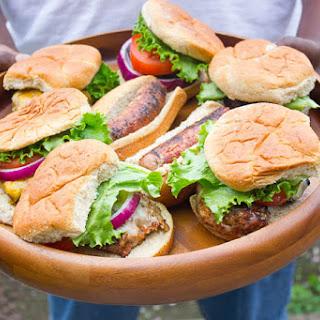 Parmesan and Herb Turkey Burgers & GIVEAWAY.