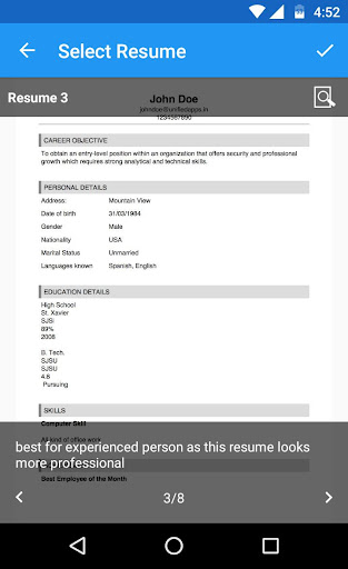 免費下載商業APP|Make My Resume app開箱文|APP開箱王