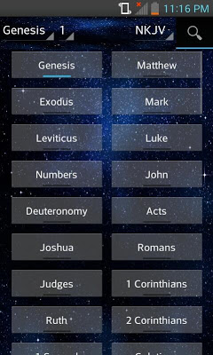 Bible NKJV (English) - screenshot