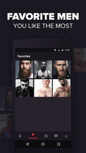 Grizzly - Gay Dating and Chat screenshot