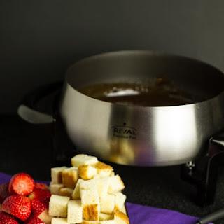 Amaretto & Toblerone Fondue