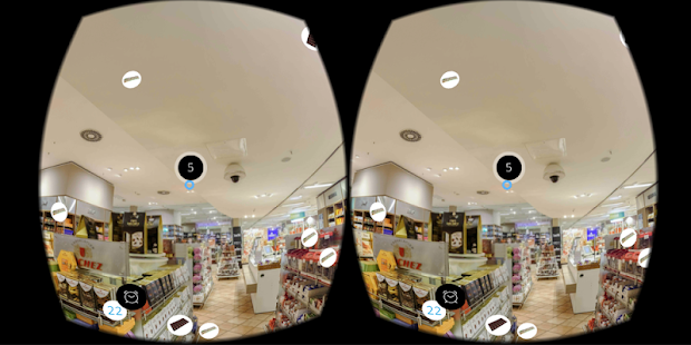 Candy Shop Challenge - 360 VR Game- screenshot thumbnail