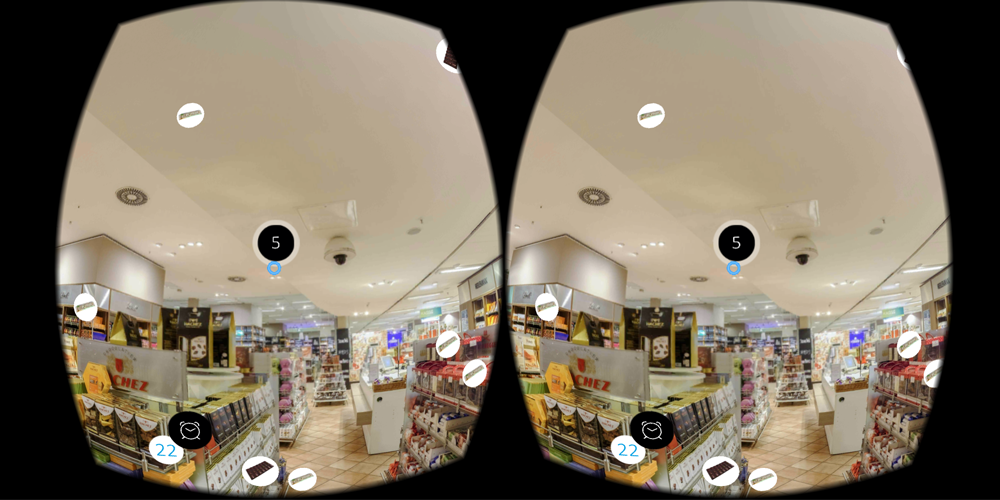 Candy Shop Challenge - 360 VR Game- screenshot
