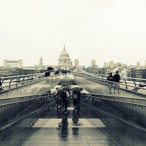 Way of rain.... by Paulo Faria - City,  Street & Park  Street Scenes