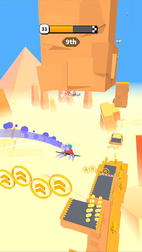 Road Glider - Incredible Flying Game screenshots 6