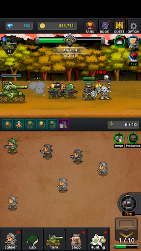 Grow Soldier - Idle Merge game screenshots 3
